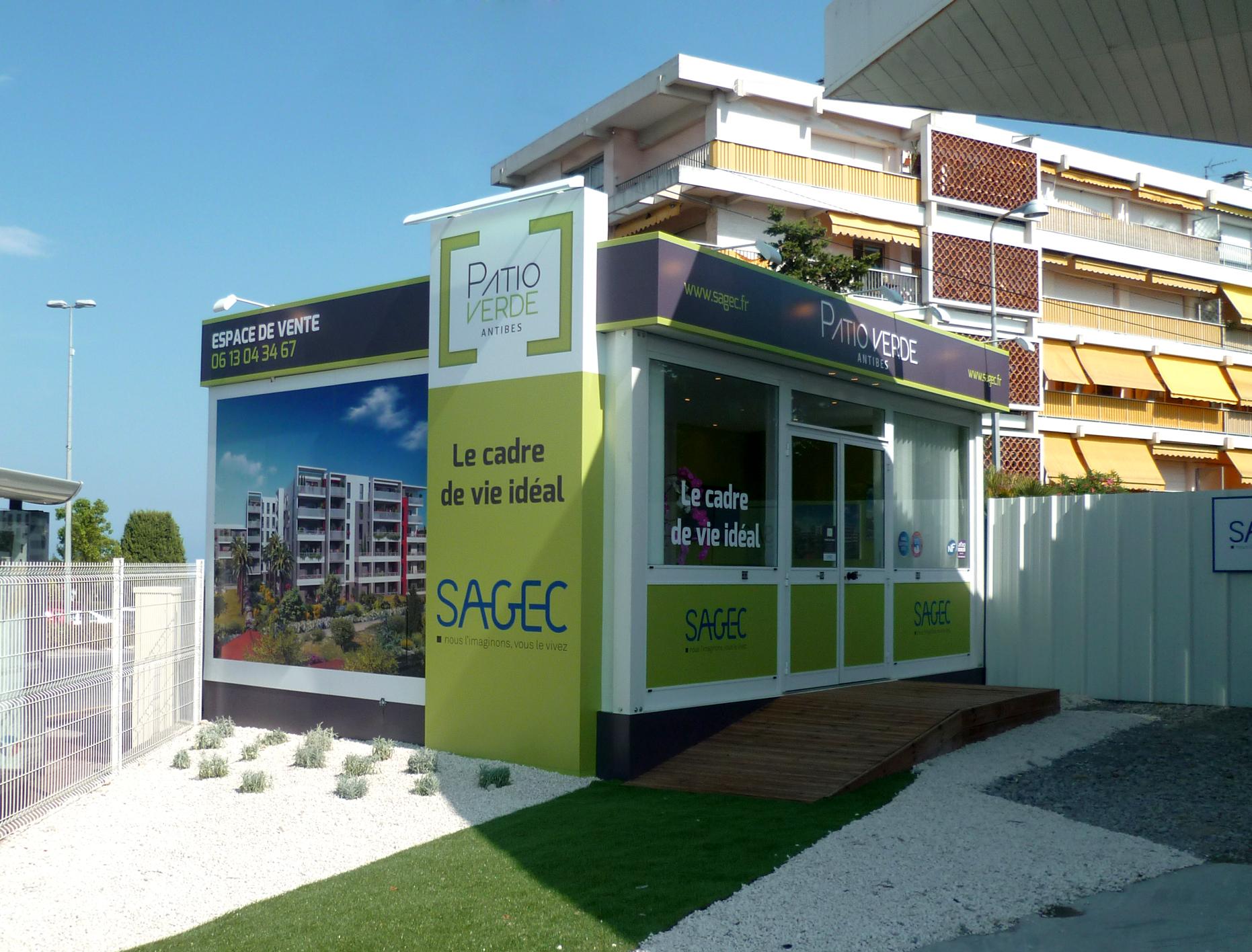 Habillage espace de vente SAGEC