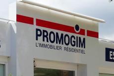 Habillage de l'espace de vente Promogim - Aubagne